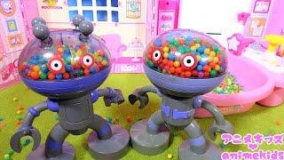 アンパンマン アニメ おもちゃ だだんだんとだだんだん ドキンちゃんのビーズのお風呂食べちゃうよ! animekids アニメキッズ animation Anpanman Toy