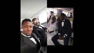 حفل زفاف النيجيري جونيور أجاي مهاجم النادى الاهلى المصرى