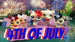 LPS- USA Independence Day- 4th Of July Celebration- (Skit)-(Short Film)