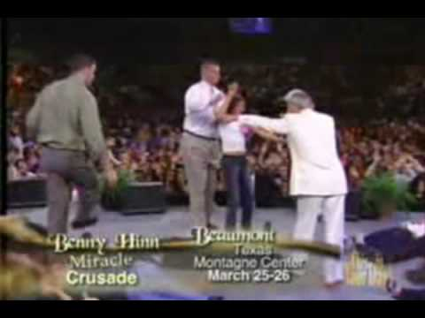 Benny Hinn Fire Fall on Kids1 Traduzido