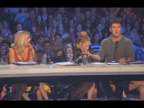 Demi Lovato and Simon Cowell Funniest moments on The X factor Season 2 2 6 LEGENDADO