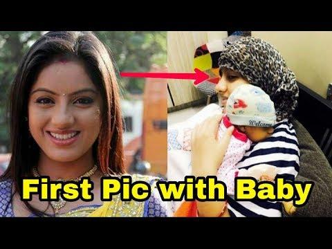 Deepika Singh aka Sandhya of Diya aur baati hum shares first photo with her baby boy Dont miss ❤️