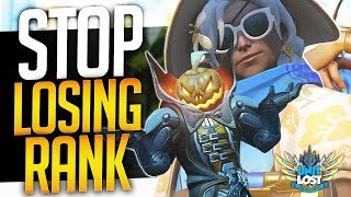Overwatch - TOP 3 Reasons Why YOU Lose SR! (STOP LOSING RANK!)