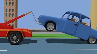 Tow Truck - Kids Truck | Cartoons Cars for Choldren | Auto Laweta Animacje Dla Dzieci