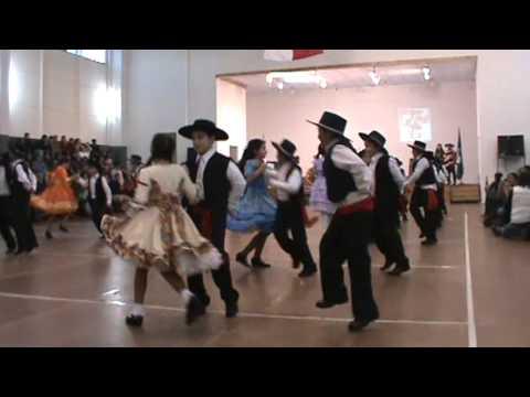 Baile Mazamorra Colegio Santo Tomas año 2013