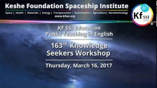 163rd Knowledge Seekers Workshop March 16th, 2017