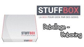 [UNBOXING] Stuffbox Juin 2014 Game Of Thrones