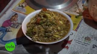 Egg Maggi Nooodles Street Food Style, Indian Street Food