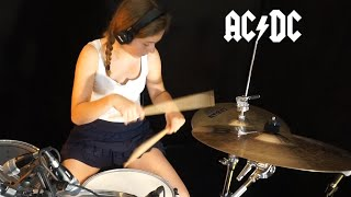 ACDC - Whole Lotta Rosie; Drum Cover by Sina