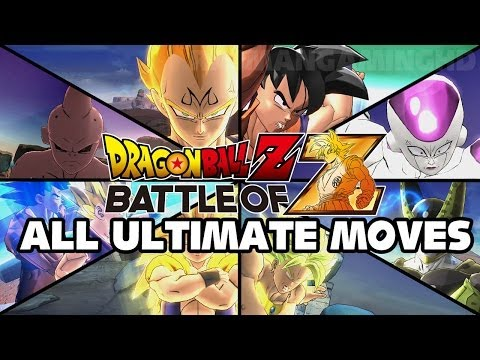 Dragon Ball Z Battle of Z All Ultimate Attacks TRUE HD QUALITY