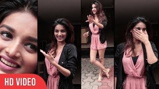 Nidhi Agerwal Spotted At Bandra | Munna Micheal Actress Nidhi Agerwal