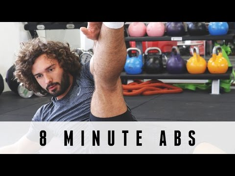 8 Minute Abs Workout   The Body Coach