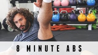 8 Minute Abs Workout | The Body Coach