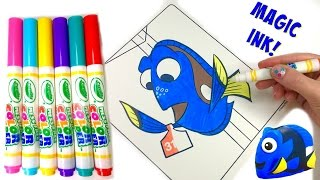 Disney's Finding Dory Crayola Color Wonder Coloring Book - Surprise Magic Ink Marker | Fizzy Toy Sho