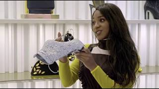 Normani Kordei Stops by a Vocal Coaching Session and Goes Shopping for Shoes on