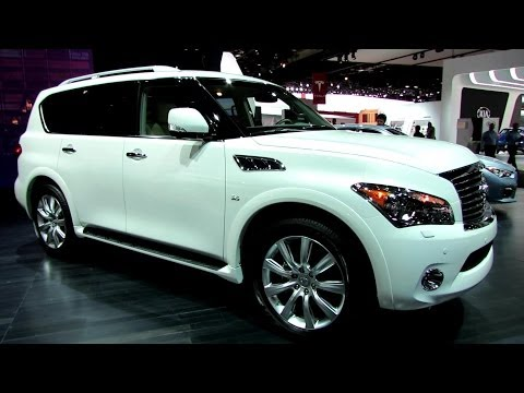 2014 Infiniti QX80 - Exterior and Interior Walkaround - 2014 Detroit Auto Show