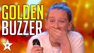 Original Song Audition Gets GOLDEN BUZZER On Britain