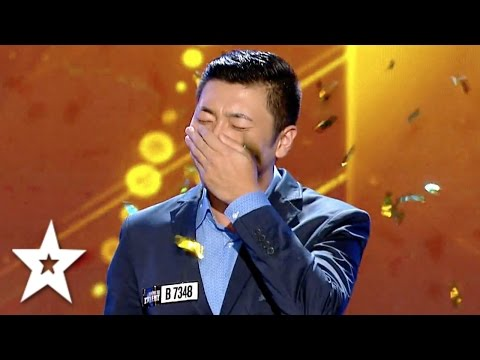 Fang Shuang s GOLDEN BUZZER Audition Auditions Week 3 Românii au talent