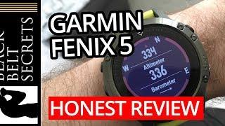 Garmin Fenix 5 — An HONEST Review