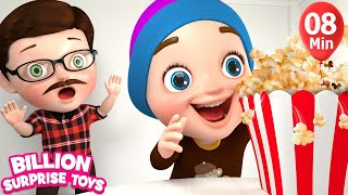 JOHNY JOHNY COLOR SONG - Simple Animation for Kids