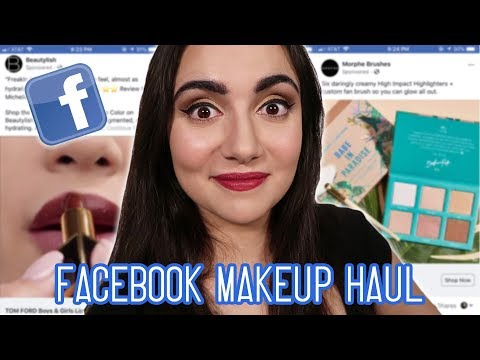 Xxx Mp4 I Bought A Full Face Of Makeup From Facebook Ads 3gp Sex