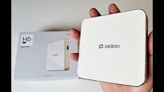 2017 Powerful Android TV Box - Zidoo H6 Pro - DDR4 - Netflix/YouTube 4K