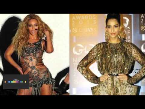 Sonam Kapoor and Beyonce in Coldplay's new single
