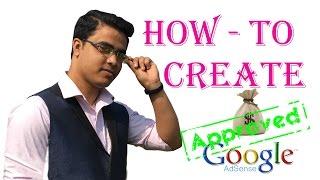 How to create google adsense account bangla tutorial
