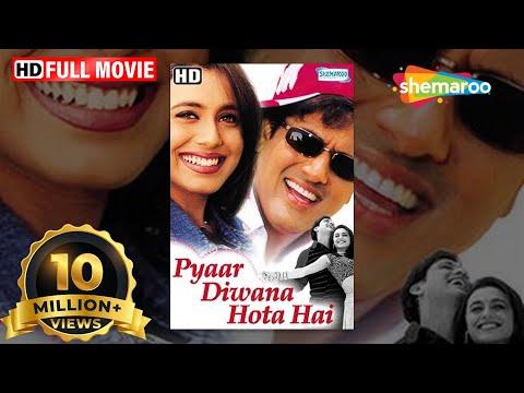 Xxx Mp4 Pyar Diwana Hota Hai HD Hindi Full Movie Govinda Rani Mukherjee Hit Film With Eng Subtitles 3gp Sex