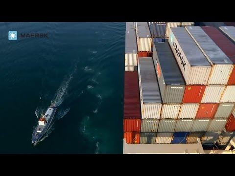 Maersk Line On Board Edith Maersk