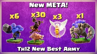 Th12 New META! 6 Bowler+ 3 Healer+ Golem+ 30 Hogs | TH12 War Strategy #51 | COC 2018 |