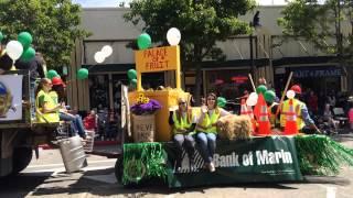 Bank of Marin in Petaluma 2014 Butter & Egg Days Parade