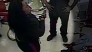Ohio Woman Pulls Gun Over Son
