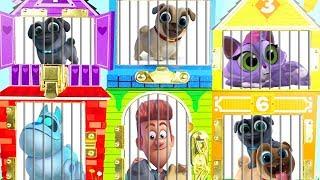 Disney Jr PUPPY DOG PALS Jail Rescue LOL Surprise Dolls, Bath Toys, Paw Patrol, Slime Fun Toys