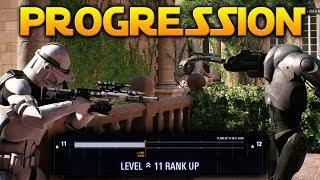 PROGRESSION SYSTEM - Star Wars Battlefront 2 (Levels, Star Cards etc)