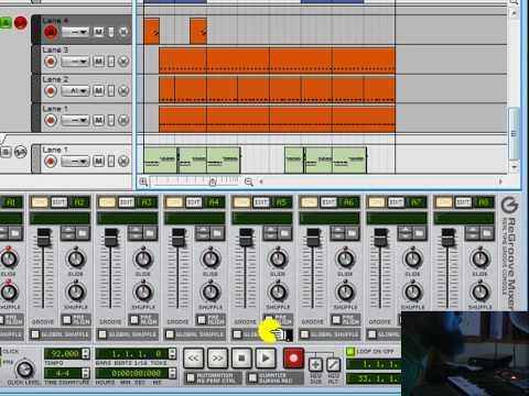 Bigg Vic - Reason 4.0 Hip Hop Beatmaking Tutorial the Classic Editon!! Lets Go Fam....