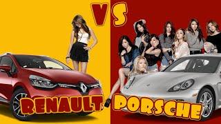 Porsche VS Renault - Pick up Girls  (IbraTv)