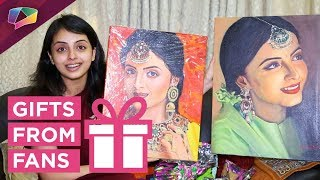 Shrenu Parikh Receives Gifts From Her Fans | Exclusive