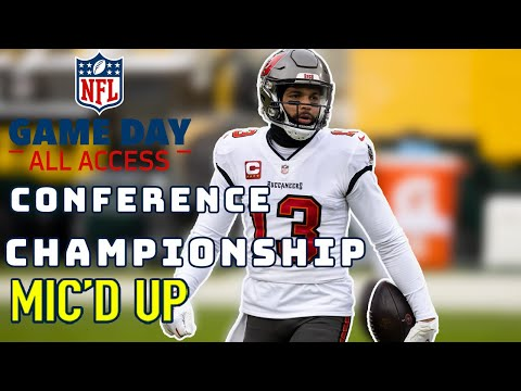 NFL Conference Championship Mic d Up There s a Ceremony I m New to This Game Day Access
