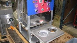 TESTING A SV109 PROMARKS CUP SEALER LARGE CUP