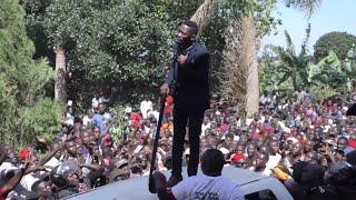 Uganda's Bobi Wine returns home