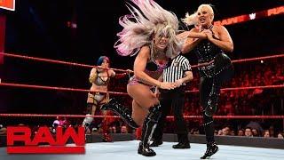 Asuka & Dana Brooke vs. Alexa Bliss & Mickie James: Raw, April 2, 2018