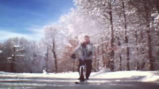 Ski bike homemade