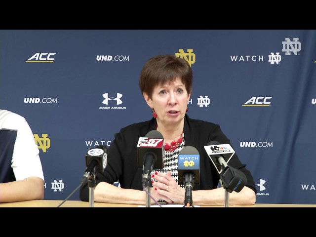 Muffet McGraw Post-Game Press Conference - Florida State
