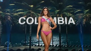 Paulina Vega, Miss Colombia - Preliminary Competition Miss Universe HD