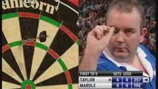 Wayne Mardle vs Phil taylor  World Darts Championship