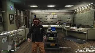 AVOIR LE TORSE INVISIBLE - GTA5 ONLINE 1.40