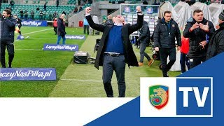 Miedź TV:  Śląsk Wrocław -  Miedź Legnica   kulisy meczu