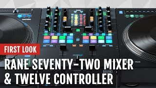 First Look: Rane SEVENTY-TWO Mixer and TWELVE Controller   Tips and Tricks
