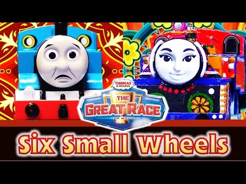 Xxx Mp4 Six Small Wheels Thomas Friends The Great Race Remake TrackMaster Ashima 3gp Sex